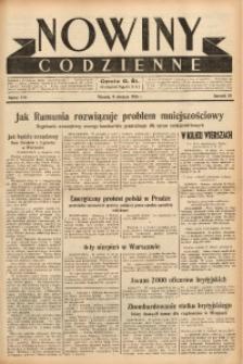 Nowiny Codzienne, 1938, R. 28, nr 179