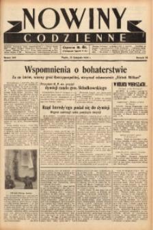 Nowiny Codzienne, 1938, R. 28, nr 269