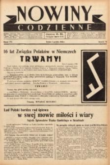 Nowiny Codzienne, 1938, R. 28, nr 276