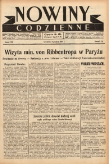 Nowiny Codzienne, 1938, R. 28, nr 280