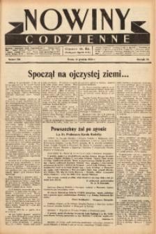 Nowiny Codzienne, 1938, R. 28, nr 284