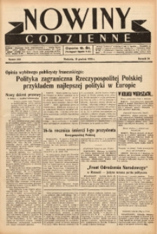 Nowiny Codzienne, 1938, R. 28, nr 288