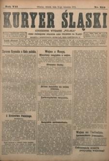Kuryer Śląski, 1915, R. 7 [właśc. 9], nr 210
