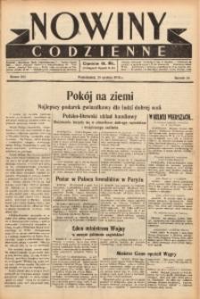 Nowiny Codzienne, 1938, R. 28, nr 294