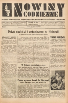Nowiny Codzienne, 1937, R. 27, nr 6