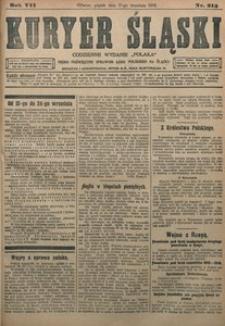 Kuryer Śląski, 1915, R. 7 [właśc. 9], nr 213