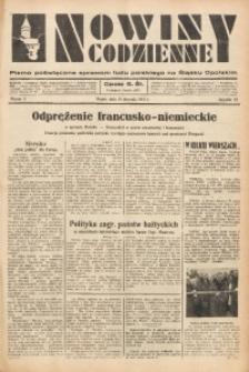 Nowiny Codzienne, 1937, R. 27, nr 11