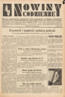 Nowiny Codzienne, 1937, R. 27, nr 12