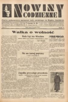 Nowiny Codzienne, 1937, R. 27, nr 17