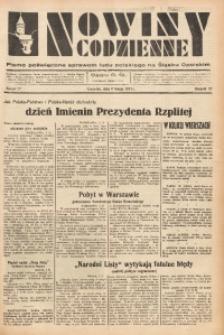 Nowiny Codzienne, 1937, R. 27, nr 27