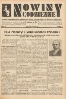 Nowiny Codzienne, 1937, R. 27, nr 44