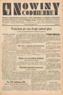 Nowiny Codzienne, 1937, R. 27, nr 59