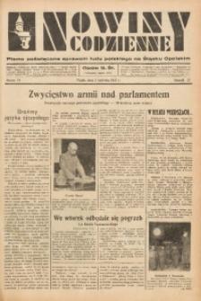 Nowiny Codzienne, 1937, R. 27, nr 74