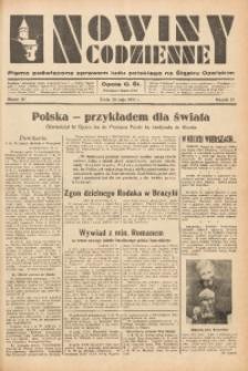 Nowiny Codzienne, 1937, R. 27, nr 117