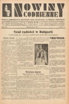 Nowiny Codzienne, 1937, R. 27, nr 136