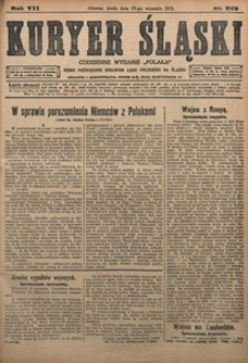 Kuryer Śląski, 1915, R. 7 [właśc. 9], nr 223
