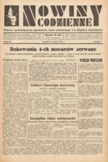 Nowiny Codzienne, 1937, R. 27, nr 141