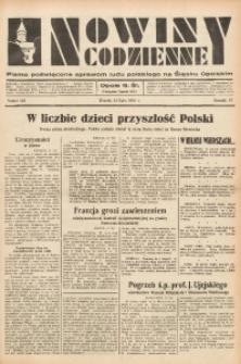 Nowiny Codzienne, 1937, R. 27, nr 156