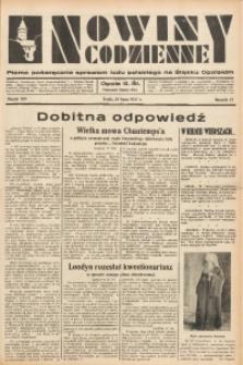 Nowiny Codzienne, 1937, R. 27, nr 169