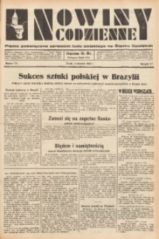 Nowiny Codzienne, 1937, R. 27, nr 175