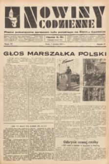 Nowiny Codzienne, 1937, R. 27, nr 181