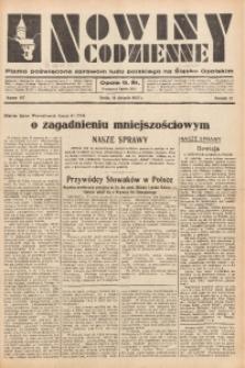 Nowiny Codzienne, 1937, R. 27, nr 187