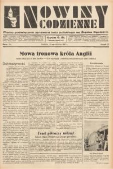 Nowiny Codzienne, 1937, R. 27, nr 245