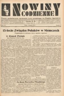 Nowiny Codzienne, 1937, R. 27, nr 252