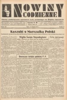 Nowiny Codzienne, 1937, R. 27, nr 260