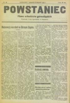 Powstaniec, 1919, nr 14