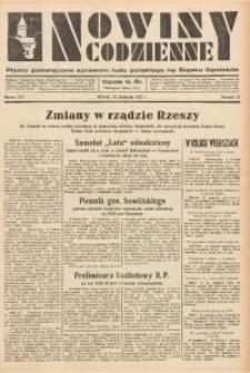 Nowiny Codzienne, 1937, R. 27, nr 274