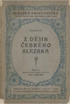 Z dĕjin Českého Slezska