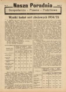 Nasza Poradnia, 1936, R. 3, nr 5