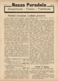 Nasza Poradnia, 1936, R. 3, nr 8