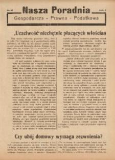 Nasza Poradnia, 1936, R. 3, nr 17