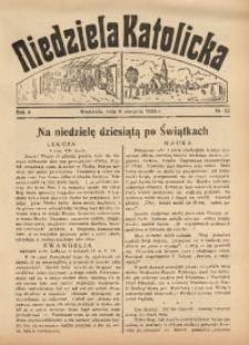 Niedziela Katolicka, 1936, R. 4 [właśc. 5], nr 32