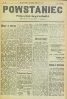 Powstaniec, 1919, nr 16
