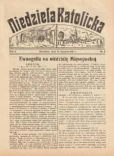 Niedziela Katolicka, 1937, R. 5 [właśc. 6], nr 5