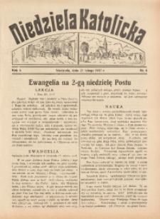 Niedziela Katolicka, 1937, R. 5 [właśc. 6], nr 8
