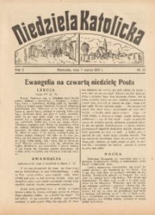 Niedziela Katolicka, 1937, R. 5 [właśc. 6], nr 10