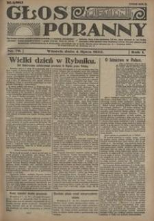 Głos Poranny, 1922, R. 1, nr 76
