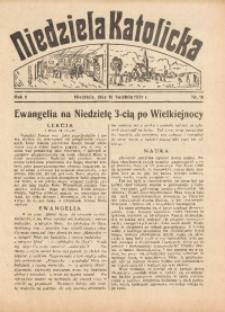 Niedziela Katolicka, 1937, R. 5 [właśc. 6], nr 16