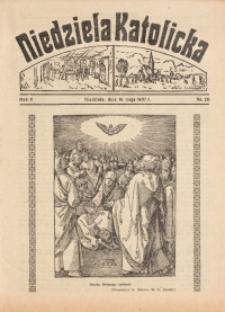 Niedziela Katolicka, 1937, R. 5 [właśc. 6], nr 20