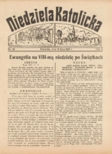 Niedziela Katolicka, 1937, R. 5 [właśc. 6], nr 28