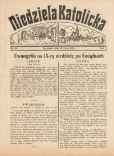Niedziela Katolicka, 1937, R. 5 [właśc. 6], nr 29