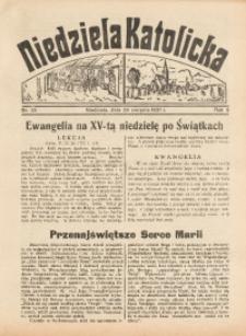 Niedziela Katolicka, 1937, R. 5 [właśc. 6], nr 35