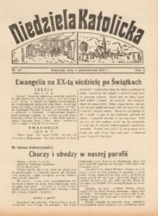 Niedziela Katolicka, 1937, R. 5 [właśc. 6], nr 40