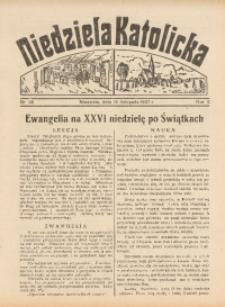 Niedziela Katolicka, 1937, R. 5 [właśc. 6], nr 46