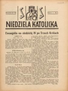 Niedziela Katolicka, 1938, R. 6 [właśc. 7], nr 5