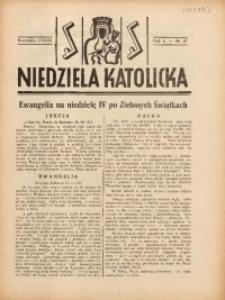 Niedziela Katolicka, 1938, R. 6 [właśc. 7], nr 27